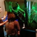 The Laser Garden at Maker Faire UK